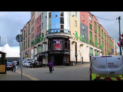 Ireland Limerick City center / Irlande Limerick Centre ville