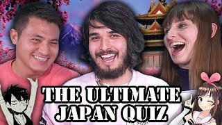 WHO KNOWS THE MOST ABOUT JAPAN?? (ft. Tokidoki Traveller & OkanoTV)
