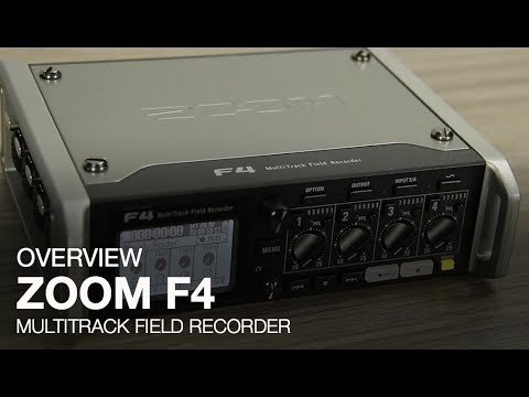 Zoom F4 Multitrack Field Recorder | Sweetwater