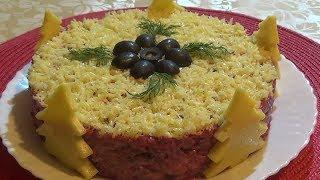 Праздничный салат «Загадка»