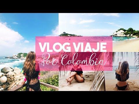 Vlog Viajamos por Colombia - Tayrona, Cartagena, San Andres.