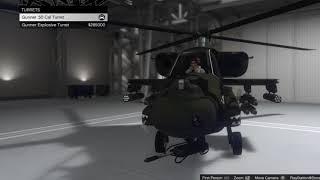 GTA 5 - Comparing Hunter .50 Cal Turret vs Explosive Turret