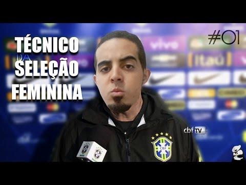 NOVO TÉCNICO DA SELEÇÃO BRASILEIRA FEMININA :: Pixel Cup Soccer 17 #01
