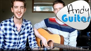 How to play Black Coffee in bed by Squeeze (guitar lesson) Easy beginners songs guitar lesson