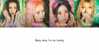 Wonder Girls - Why So Lonely Color Coded [Han|Rom|Eng Lyrics]