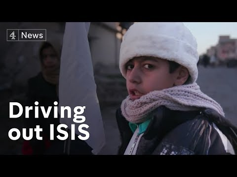 Mosul offensive: Fighting ISIS on the frontline in Iraq