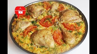 Harika tarif TAVUK KAPAMA / HAVUCLU TAVUK KAPAMA /Fava rice with lamb shank / GÜLSÜMÜN SARAYI