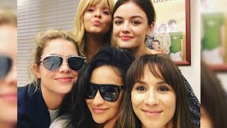 Pretty Little Liars Cast Share Emotional FINAL Table Read Photos
