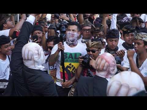 Scared Of Bums - Kepalkan Tangan Kiri - Aksi Bali Tolak Reklamasi, Denpasar 30 April 2019