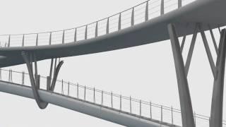 Footbridge Design - Stevensweert (sonja Van Der Meer).mkv