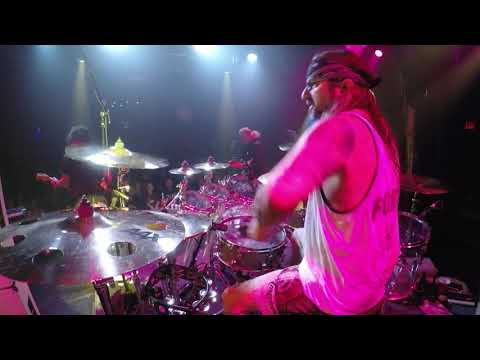 Mike Portnoy Drum Cam - The Winery Dogs Time Machine Live In NYC