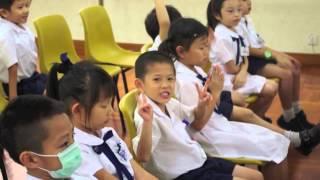htps的聖三一堂小學 - 小一新生上學片段相片