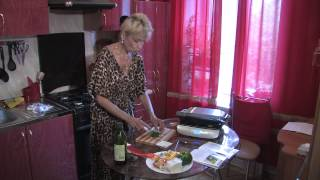 Гриль GFgril - болгарский   перец, рецепт  №25 овощей  на  любимом электрогриле