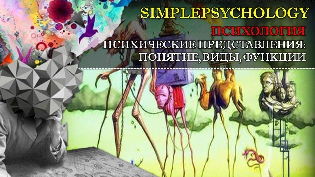 Психические представления: понятие, виды, функции