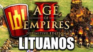 AGE of EMPIRES 2: DEFINITIVE EDITION - PRIMERA PARTIDA con LITUANOS