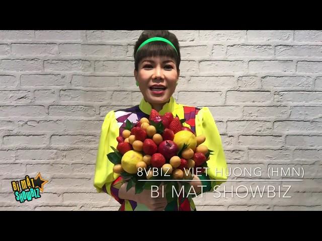 [8VBIZ] - Việt Hương nổi bần bật gửi lời chúc mừng 8/3 đến khán giả của Bí mật Showbiz