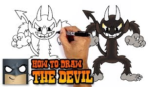 How to Draw The Devil | Cuphead