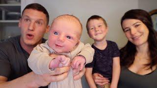 WE HAD A BABY!! | Newborn vlog + positive birth story