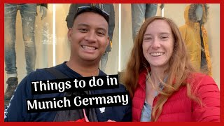WHAT TO SEE IN MUNICH GERMANY IN ONE DAY || Munich Vlog 2019