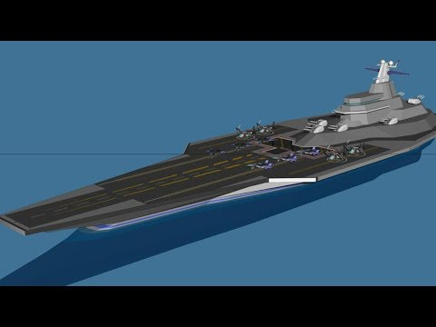 Secretly China to Build the Second Biggest Aircraft Carrier Fleet in the World