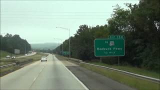 Alabama - Interstate 59 South - Mile Marker 140-130 (9/6/12)