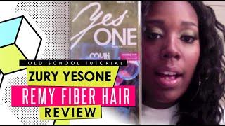 Zury Yesone Remy Fiber Hair 18