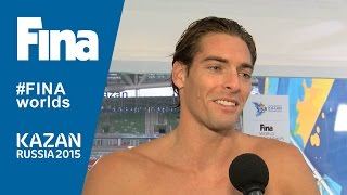 Camille Lacourt: winner of Men's 50m Backstroke in Kazan (RUS)