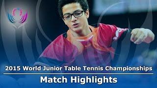 WJTTC 2015 Highlights: SEMENOV Andrey vs ELHAKEM Karim (Group)