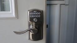 Keypad Lock Installation - Keyless Entry