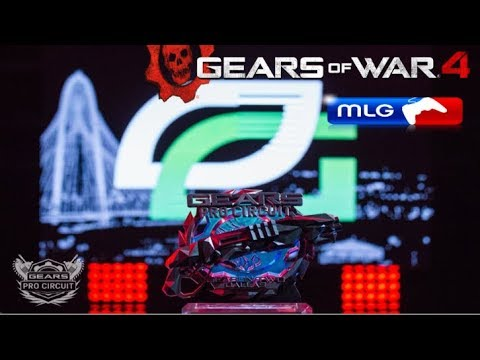 OpTic vs Echo Fox GRAND FINAL - Gears of War 4 MLG Dallas 2017 Season 2