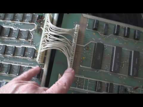 Arcade game repair atari battlezone interconnet cables upgrade