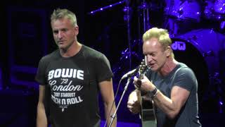 Sting 8/30/17: A - Headed South on the Great North Road (show opener) - Saratoga Springs, NY