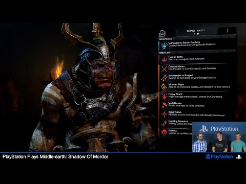 middle-earth---shadow-of-mordor-[1-hour-ps4-gameplay-&-story-stream]