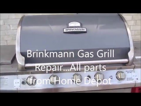 Gas Grill Repair - YouTube