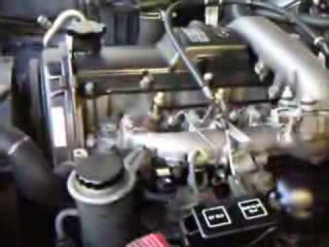 motor hilux 3 0 turbo diesel 1kz t youtube rh youtube com Toyota Wiring Diagrams Toyota Parts