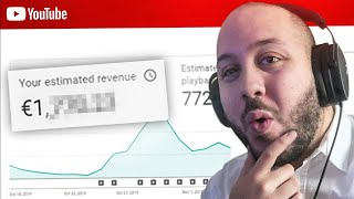 COMBIEN JE GAGNE SUR YOUTUBE ?! (Mon YouTube Analytics)