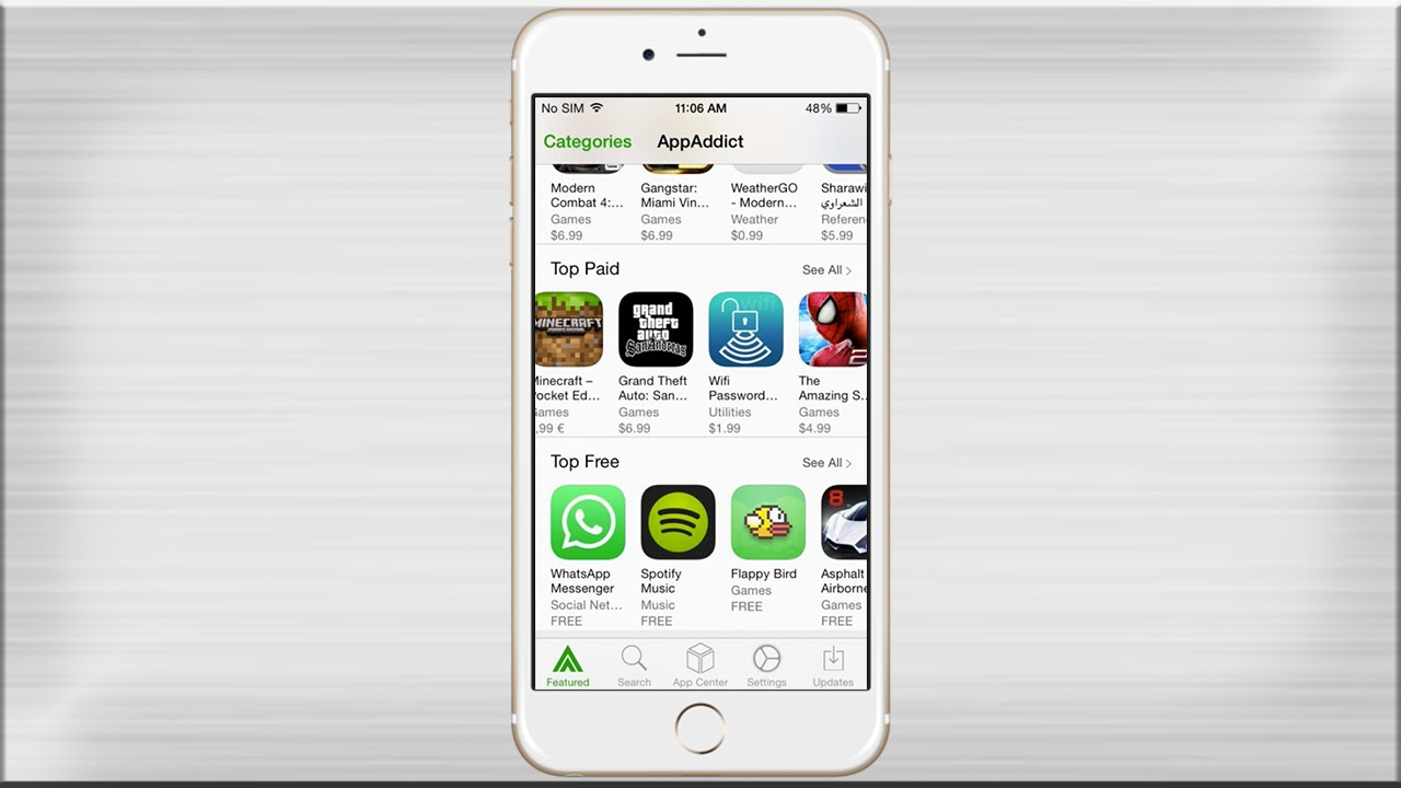 AppAddict For iPhone
