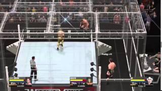 WWE 2K16 GLITCH #3 - KALISTO KILLS HIMSELF!!!