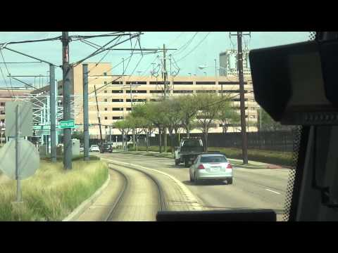 Let's Take A Ride On The AWESOME Houston METRORail Red Line To The Texas Medical Center! :D