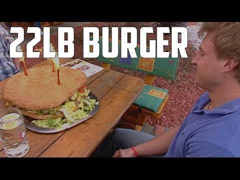 Furious World Tour | Germany - 22lb Burger, 6lb Schnitzels and More! (Full HD)