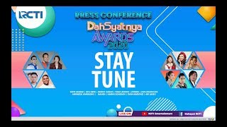 Press conference DAHSYATNYA AWARDS 2020