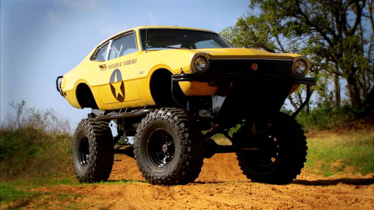 Monster Truck Modification Top Gear Usa Series Youtube