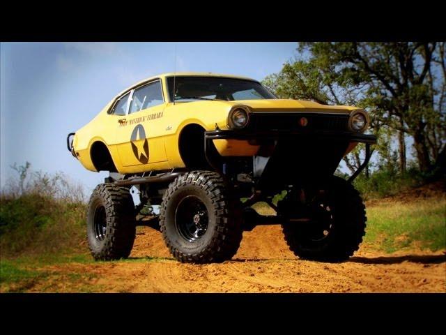 Monster Truck Modification | Top Gear USA