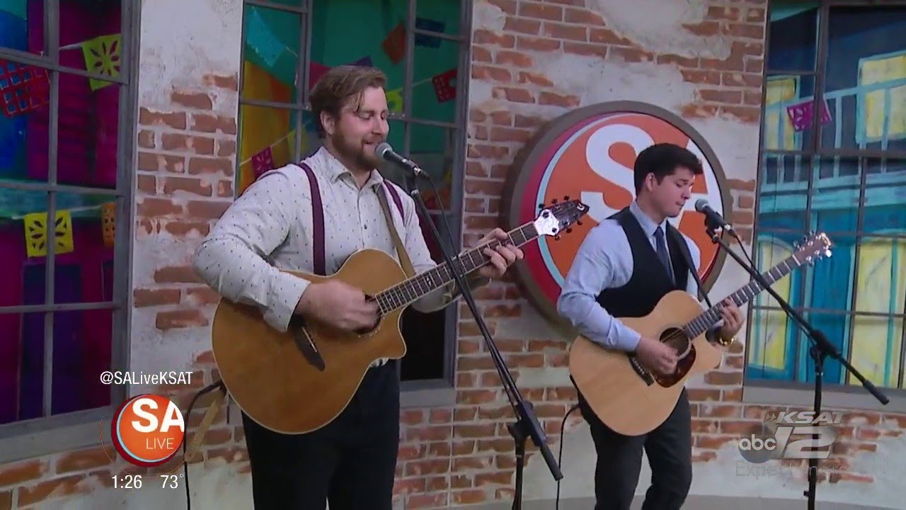 "Zach Carney & Michael Alanis perform ""Lost on the Island"" 