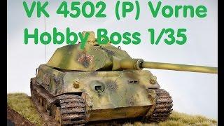 plastikmodellbau p s vk 4502 p vorne hobbyboss 1 35