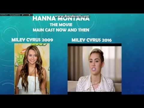 Hannah Montana The Movie Cast Now And Then