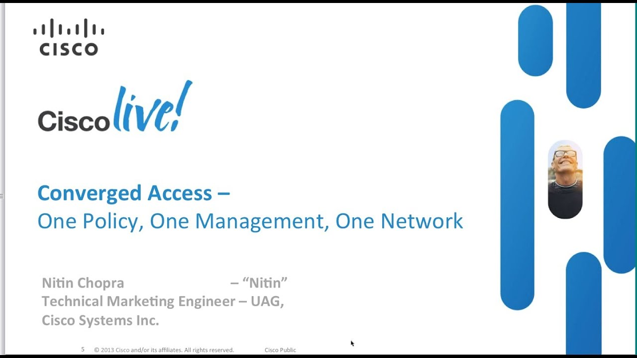 Cisco Catalyst 3850 Webinar: Converge Wired and Wireless to Build Simple,  Secure, Open Networks