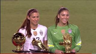 Inaugural SheBelieves Cup Champions - USWNT 3.9.2016