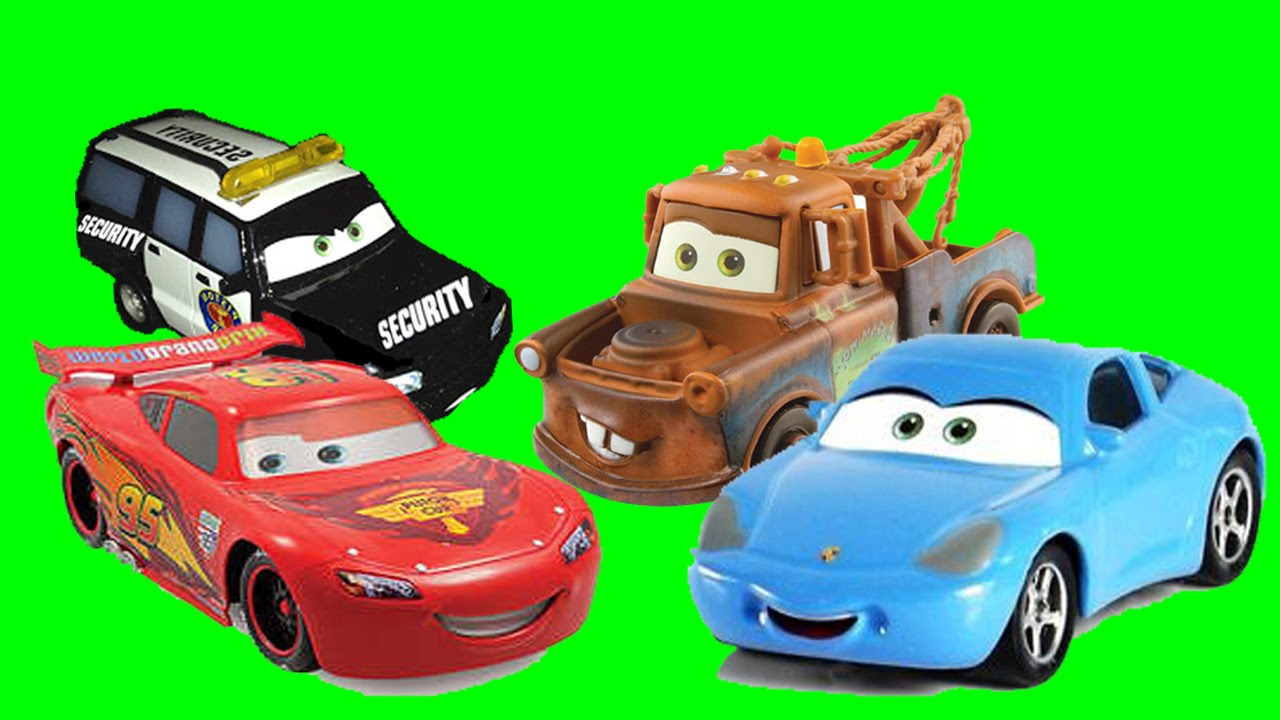 Disney pixar cars sally s amazing rescue lightning mcqueen tow mater sally carrera toys movie youtube