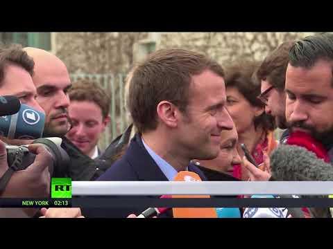 Media shy? Macron kicks press office out of Elysee